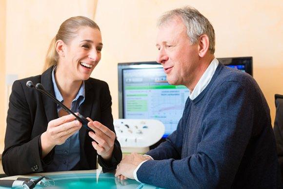 Var fjärde man över 55 år har en hörselnedsättning